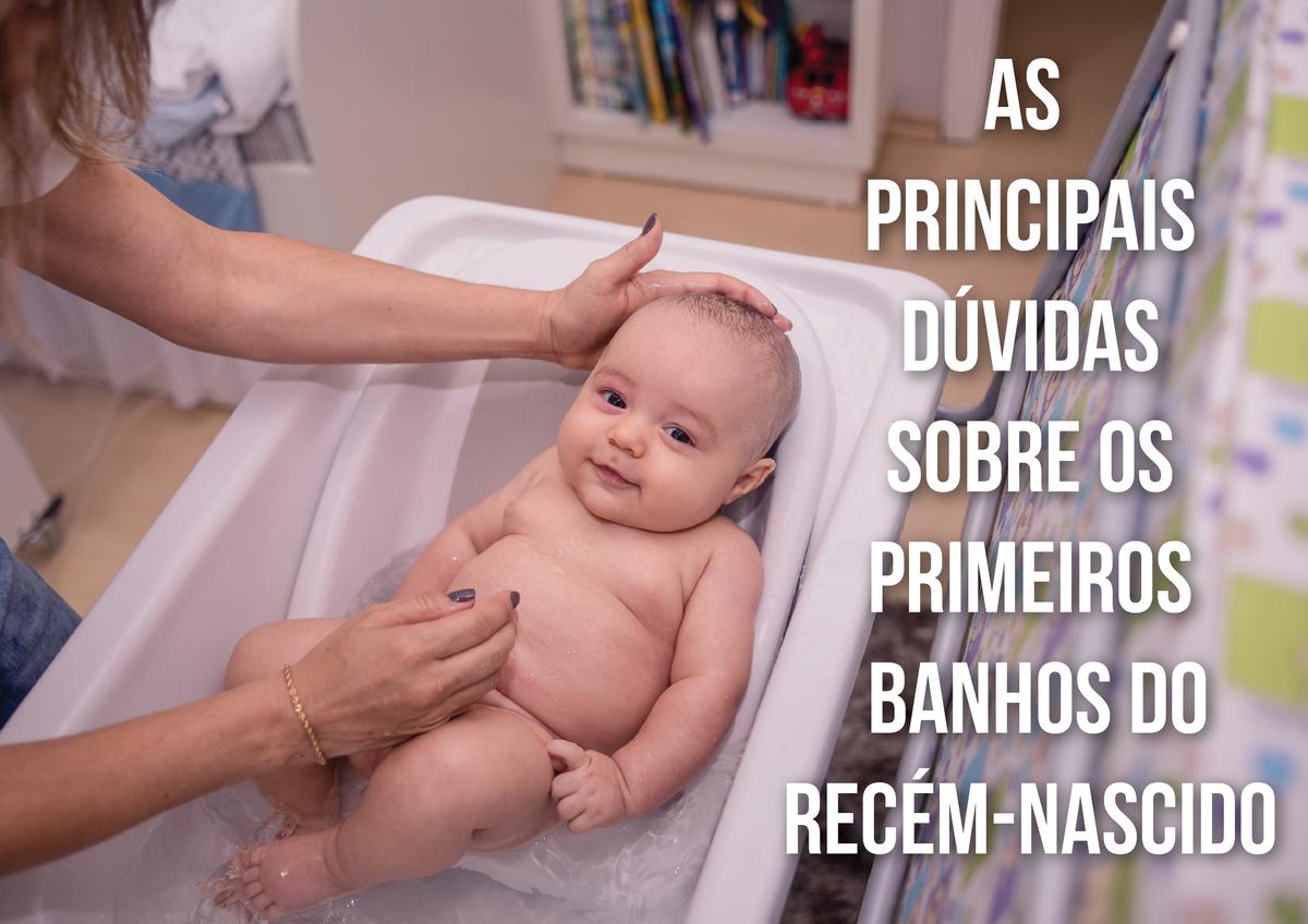 Imagem capa - Banhos do Recém Nascido por Marcio e Thati Klein - Fotografia de Família - RS