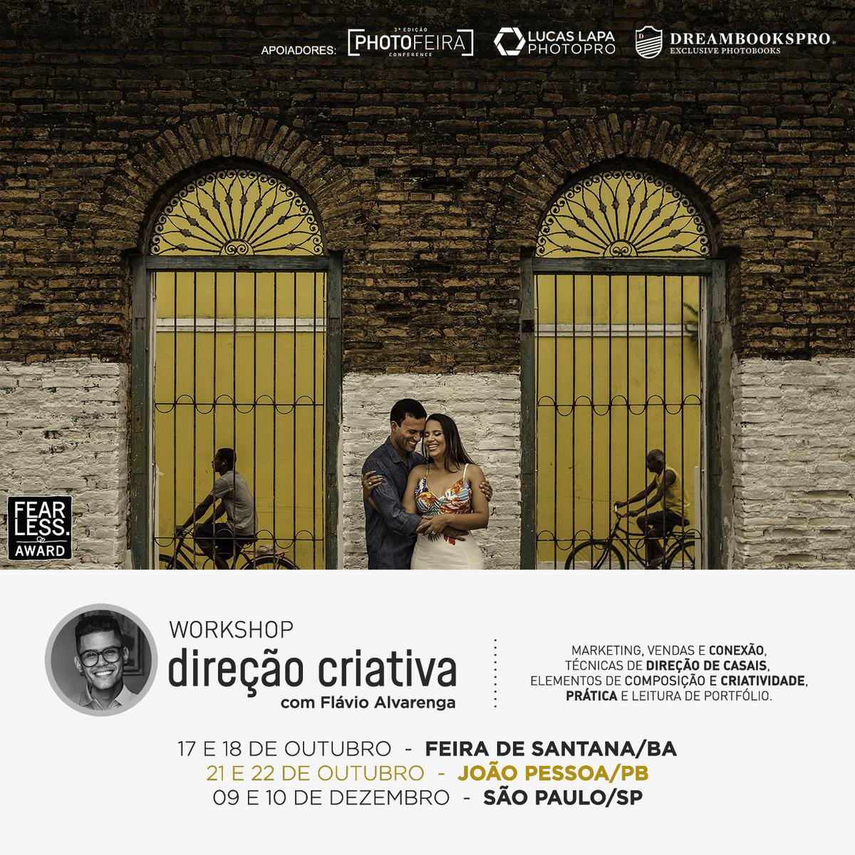 Imagem capa - Workshop Direção Criativa  por Flávio Alvarenga