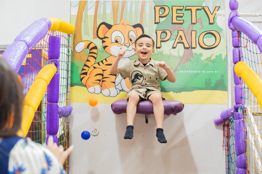 fotografo aniversario infantil joinville casa de festa pety paio decoração dinossauro Pedro 4 Anos