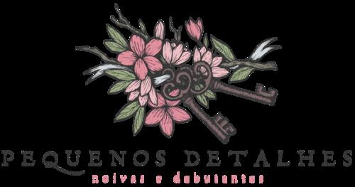 Logotipo de Pequenos Detalhes Noivas e Debutantes