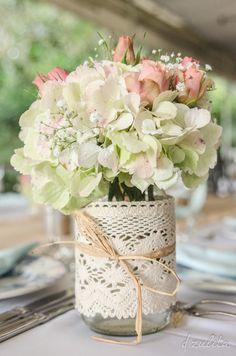 Imagem capa - Centros de mesa de convidados - Faça você mesmo - DIY por Pequenos Detalhes Noivas e Debutantes