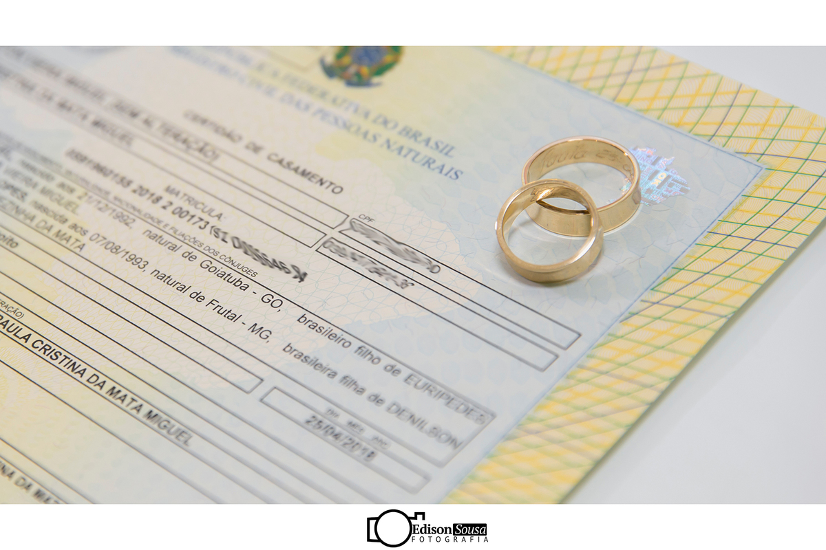 Imagem capa - Casamento Civil por Edison Sousa