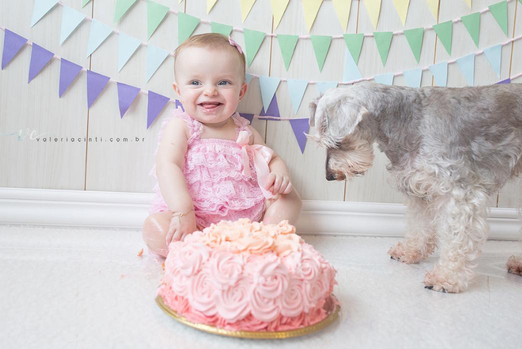 Imagem capa - O Smash the Cake é pura diversão, faça o seu também! por Valeria Cinti Fotografia