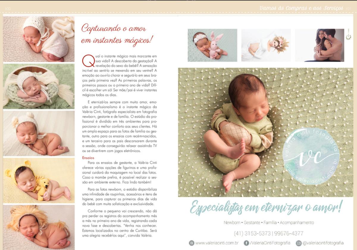 Imagem capa - Nosso estúdio está no Manual da Mamãe!  por Valeria Cinti Fotografia