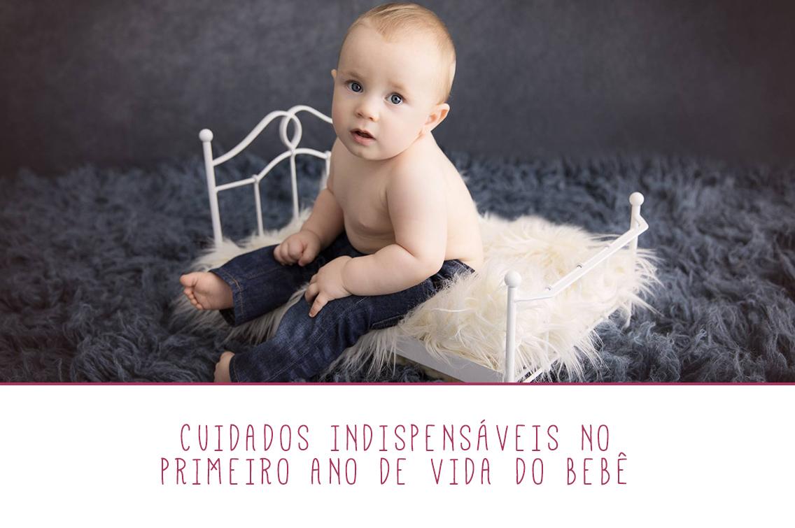 Imagem capa - Cuidados indispensáveis no primeiro ano de vida do bebê por Marques' Studio