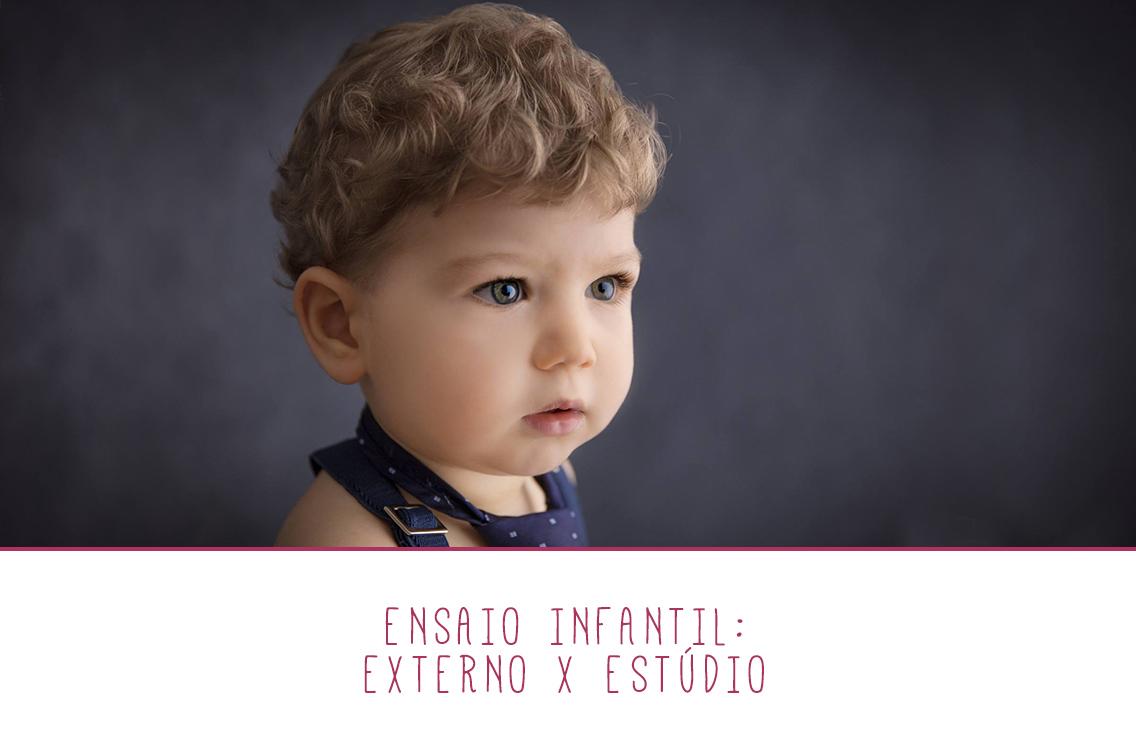 Imagem capa - Qual melhor escolha: ensaio infantil externo ou no estúdio? por Marques' Studio