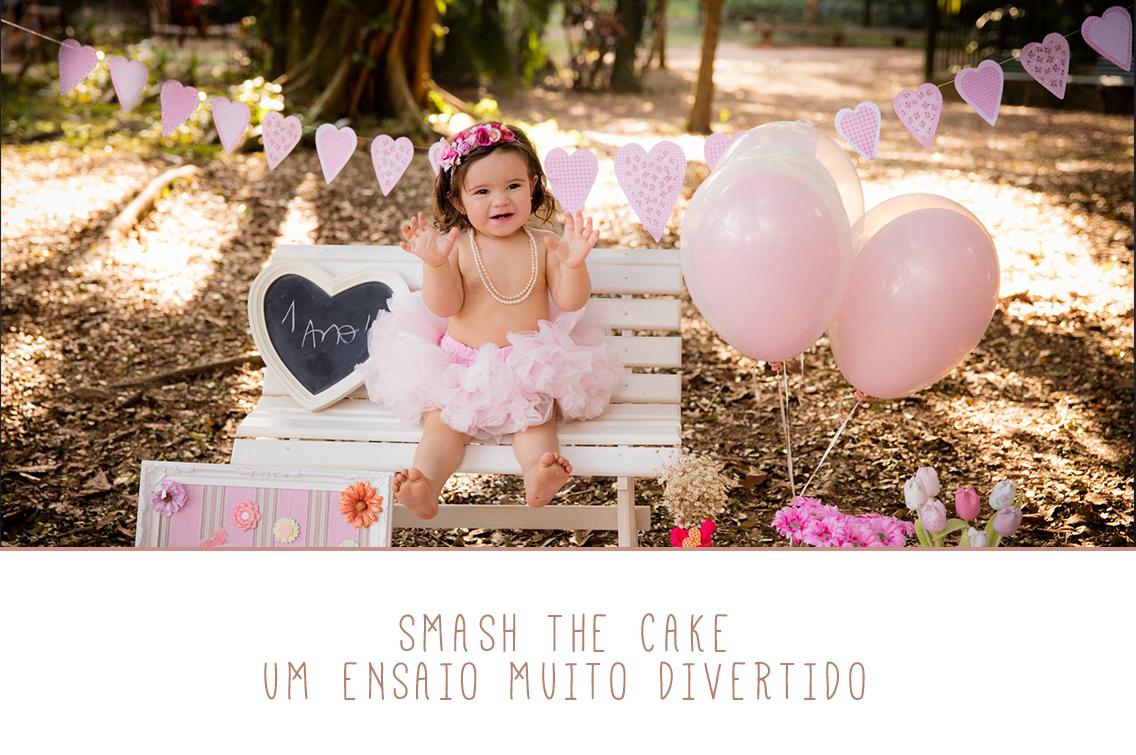 Imagem capa - Smash the Cake: Um Ensaio Muito Divertido por Marques' Studio