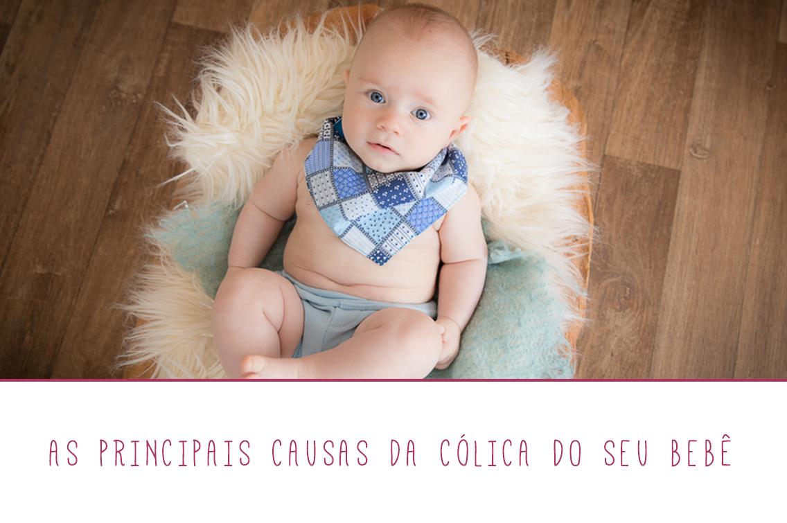 Imagem capa - As principais causas da cólica do seu bebê por Marques' Studio
