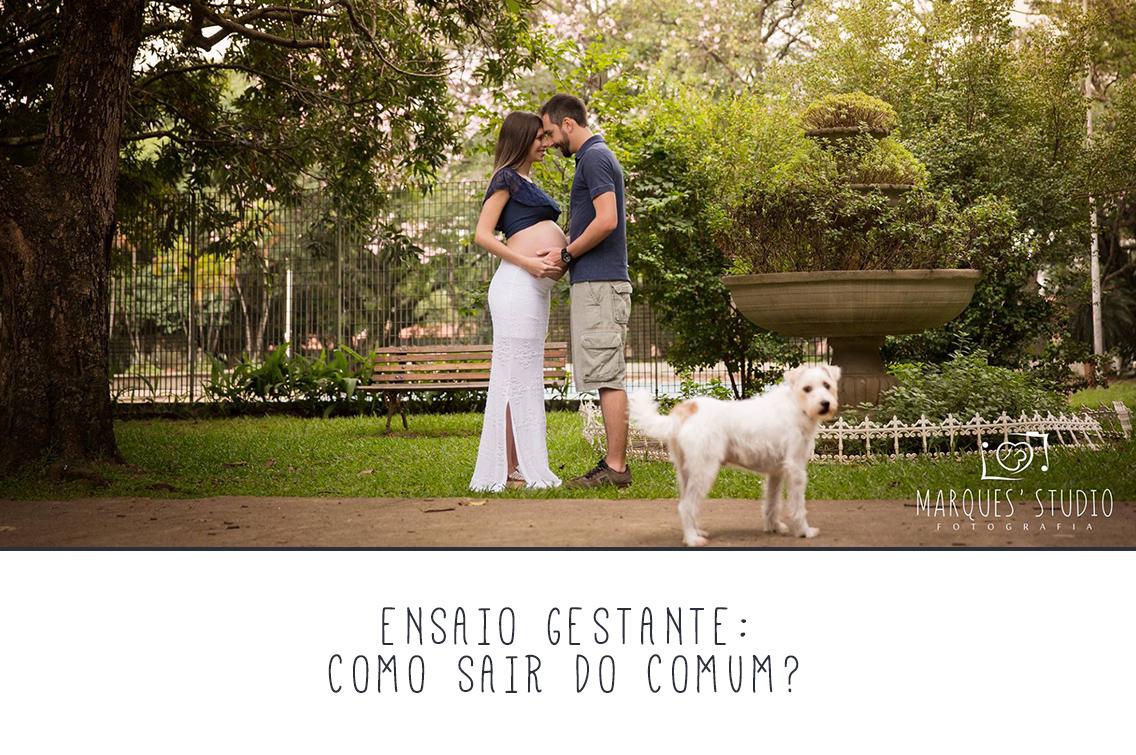 Imagem capa - Ensaio Gestante: como sair do comum? por Marques' Studio