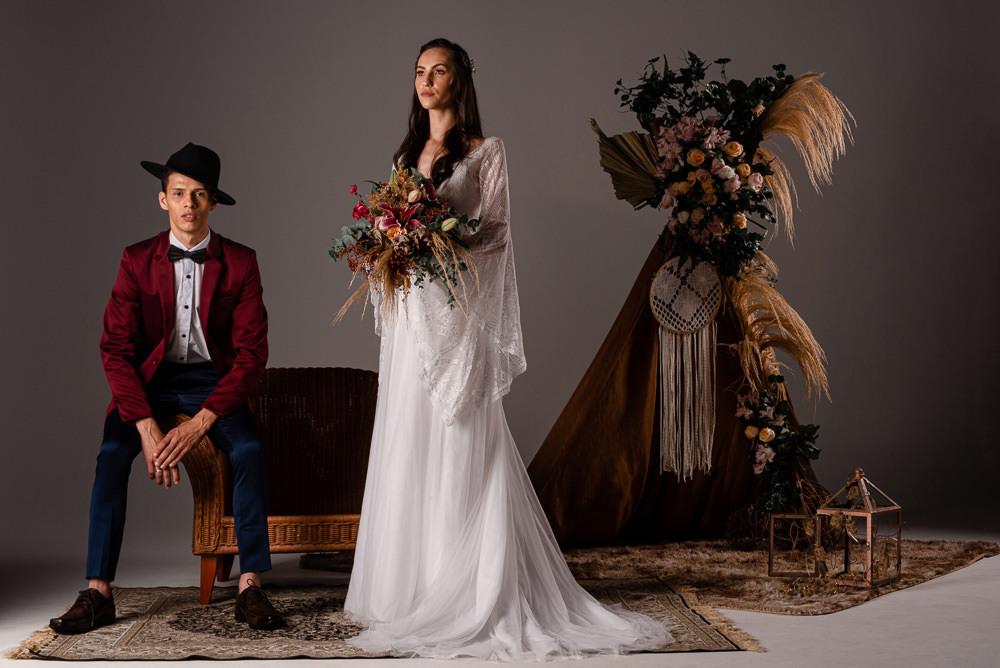 Imagem capa - Editorial Bohemian Wedding, UNIVALI por Diego Dahmer FOTO