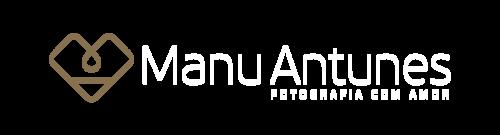 Logotipo de Manu Antunes | Fotografia com Amor