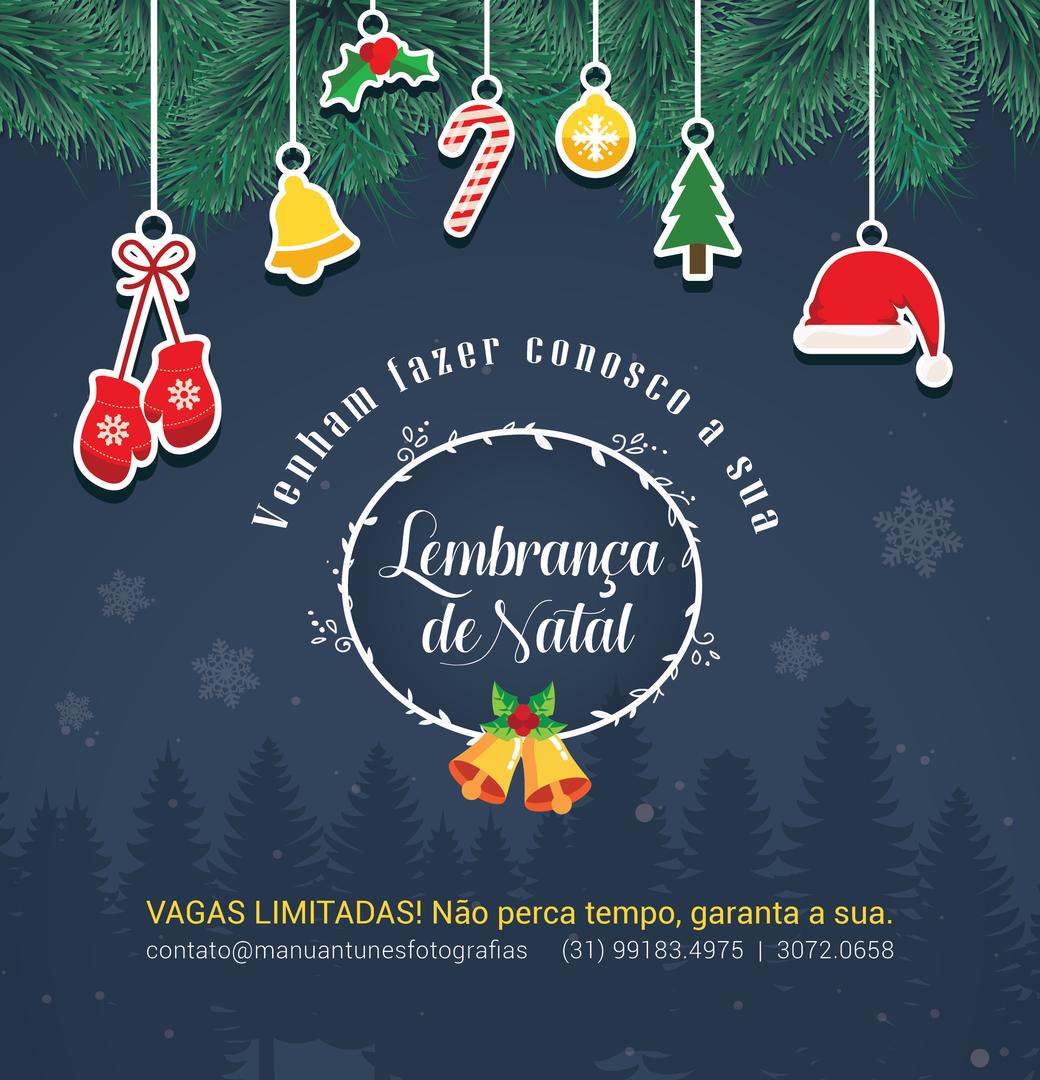 Imagem capa - Mini Ensaio de Natal 2016 por Manu Antunes | Fotografia com Amor