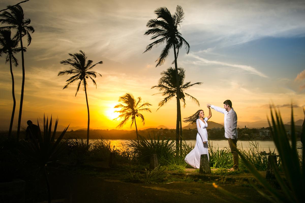 Imagem capa - Pré Wedding - Mohana e Allan - Guarapari ES por Anchell fotografia