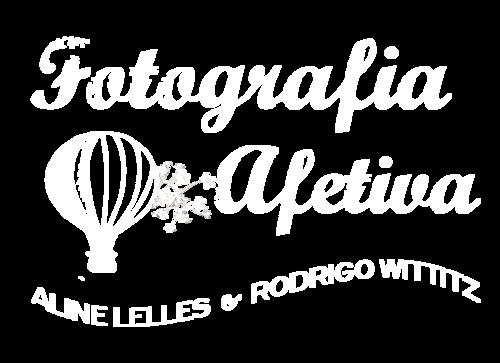 Logotipo de Atelier de Fotografia Afetiva Aline Lelles e Rodrigo Wittitz