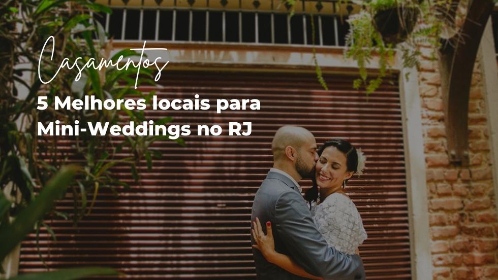 Imagem capa - Os 5 melhores locais para casamentos pequenos e intimistas no RJ [mini wedding] por Atelier de Fotografia Afetiva Aline Lelles