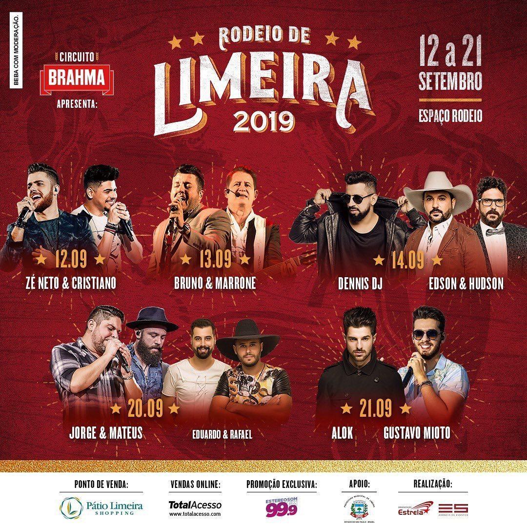 Imagem capa - Rodeio de Limeira 2019 começa nesta quinta-feira por Jefferson Silva