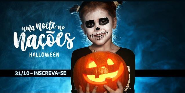 """Imagem capa - Abertas as inscrições para """"Uma Noite no Nações"""" edição Halloween por Jefferson Silva"""