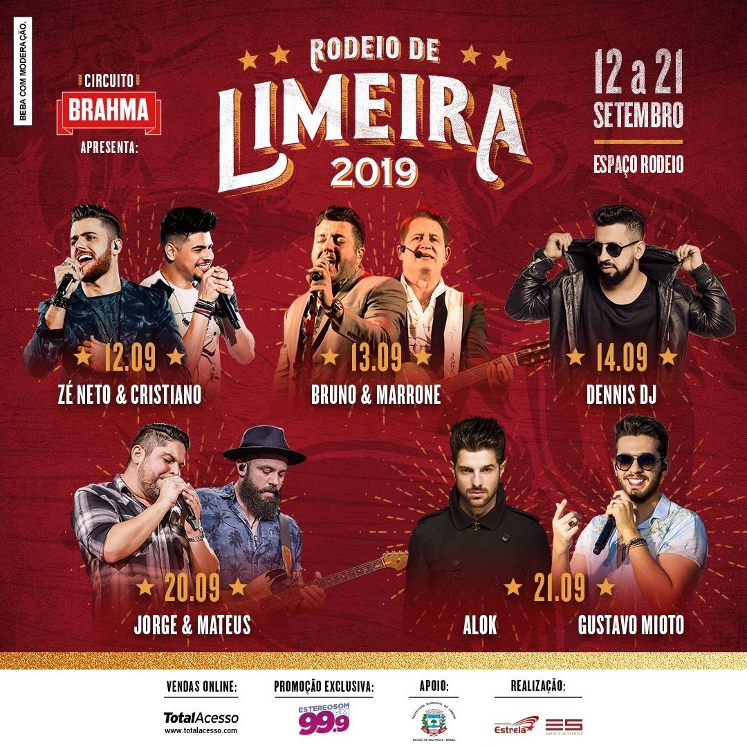 Imagem capa - GRADE COMPLETA RODEIO DE LIMEIRA 2019 por Jefferson Silva