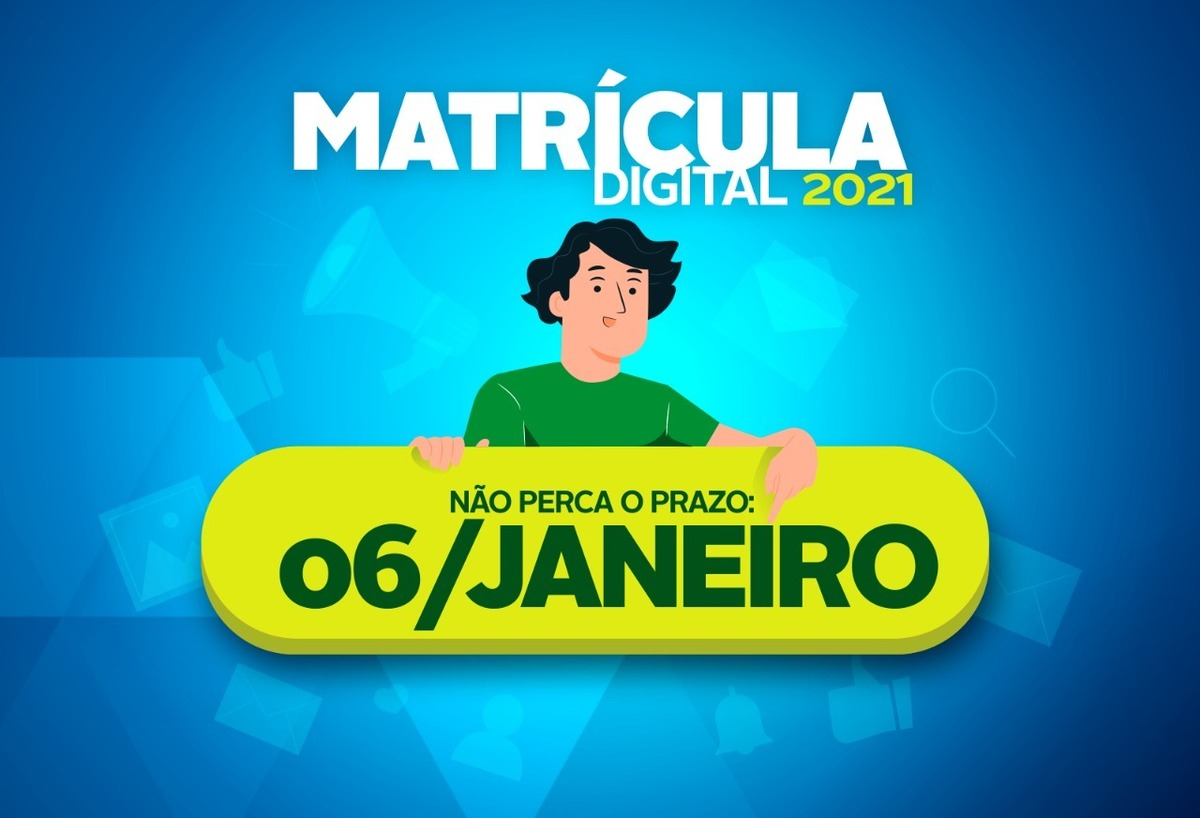 Imagem capa - Período de pré-matrículas da REE se encerra nesta quarta-feira, dia 6 por EVENTO MS