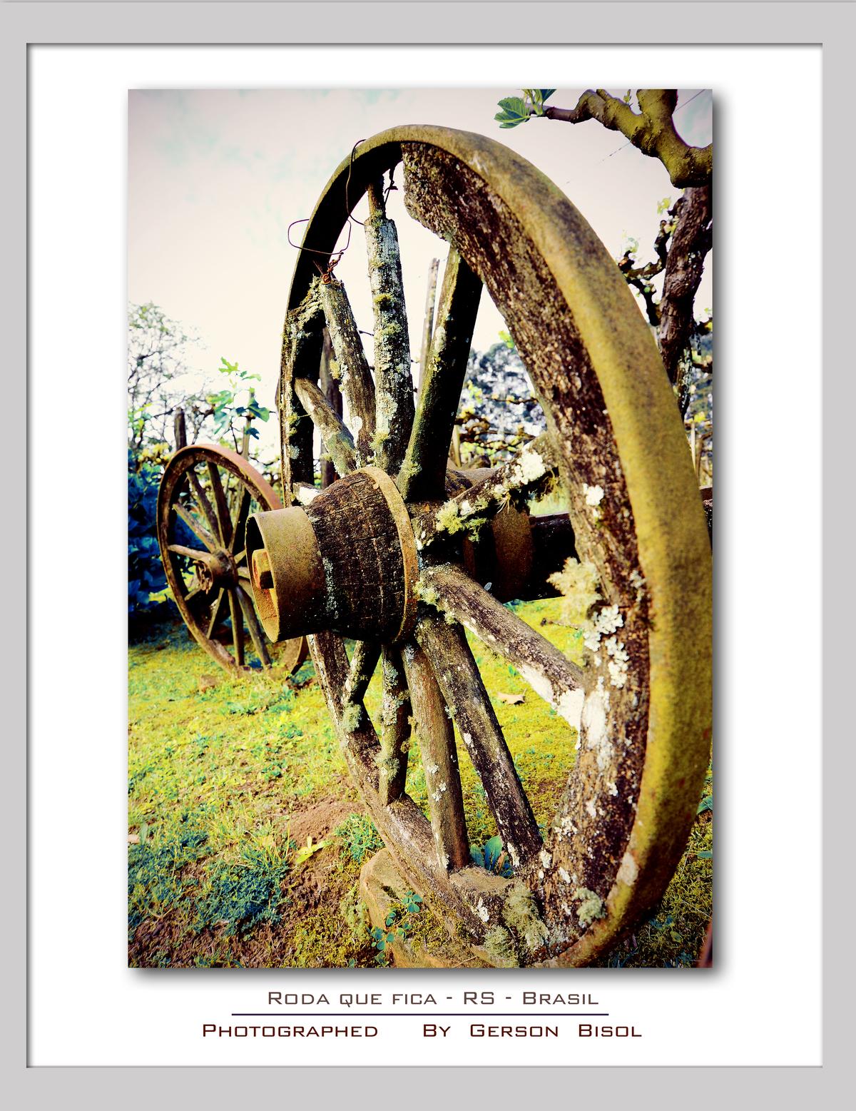 Imagem capa - Roda Que Fica por Gerson Bisol
