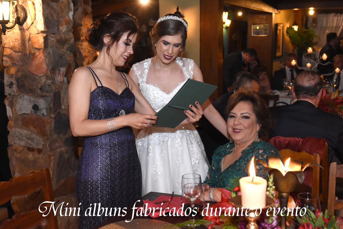 lembrança de casamento para as mães