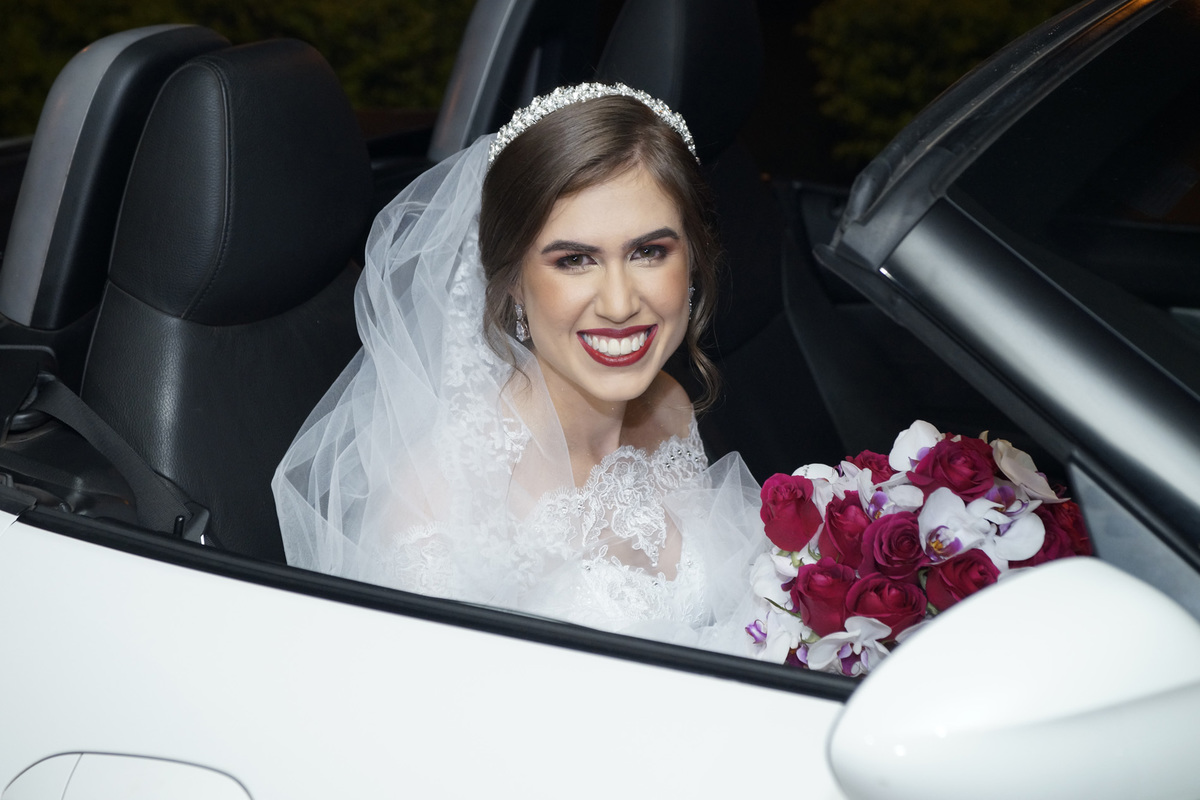 carro da noiva conversível