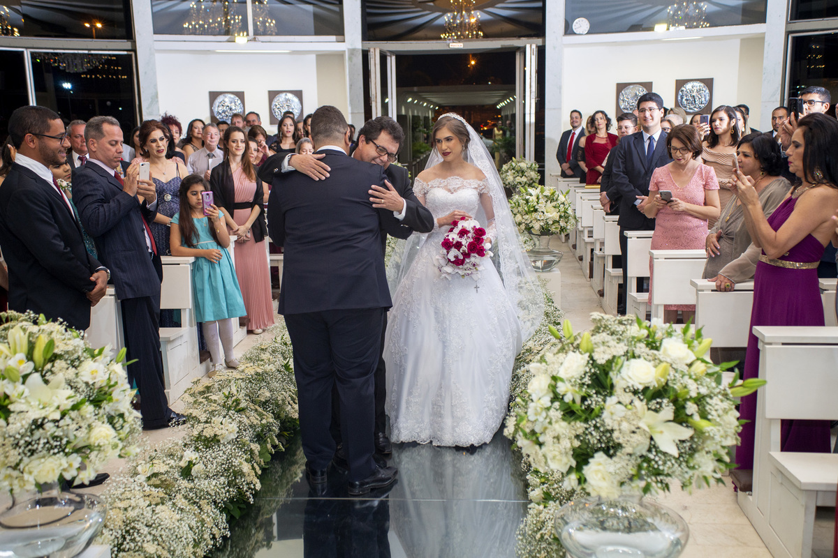 celebração de casamento no oratorio do soldado