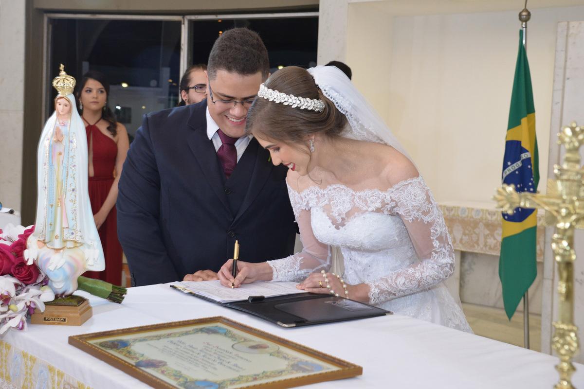 celebração de casamento no oratorio do soldado BSB