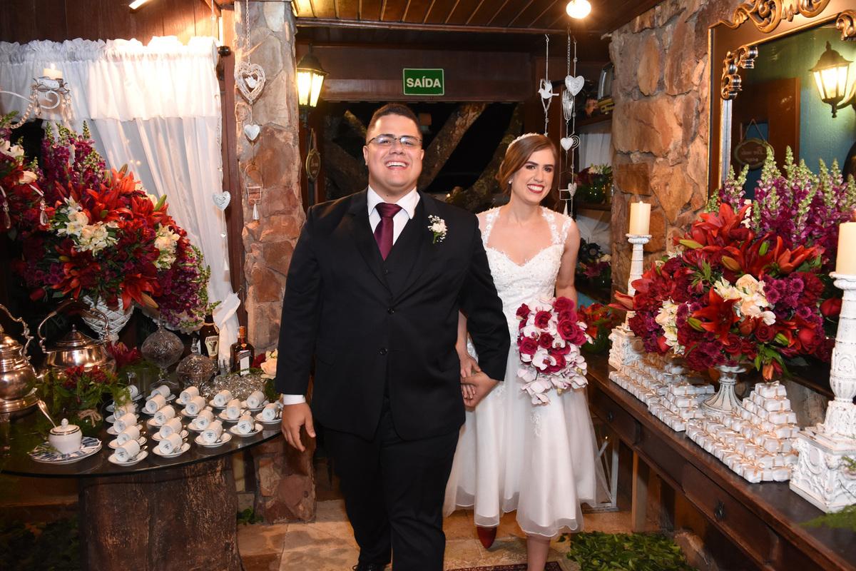 recepção de casamento na garten haus cafe colonial