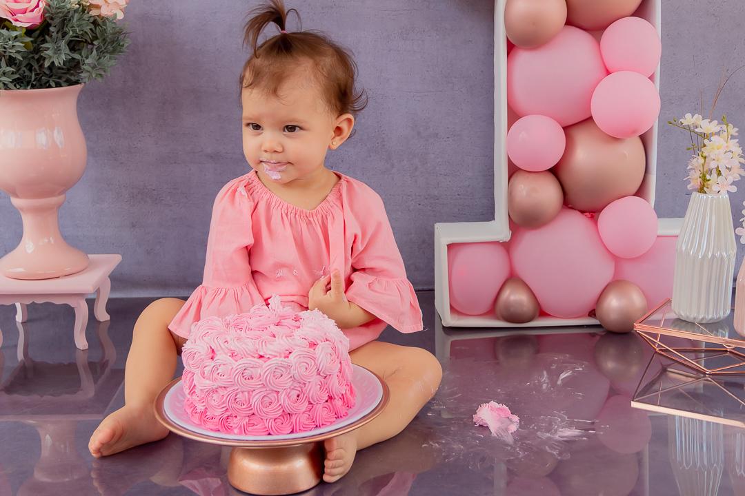 Fotografa smash the cake