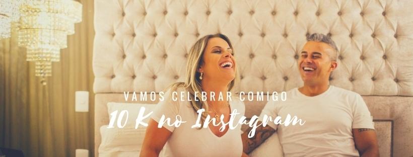 Imagem capa - Celebrando os 10mil seguidores no Instagram!!  por Ana Correa