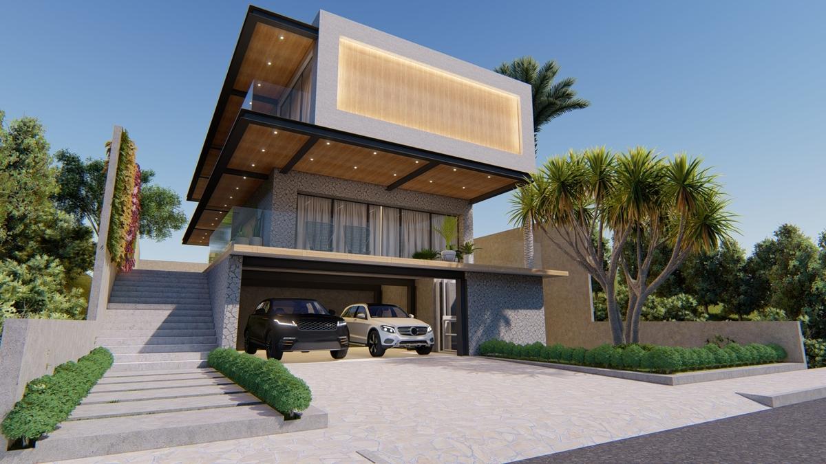 Projetos Residenciais Casa Aclive Patos