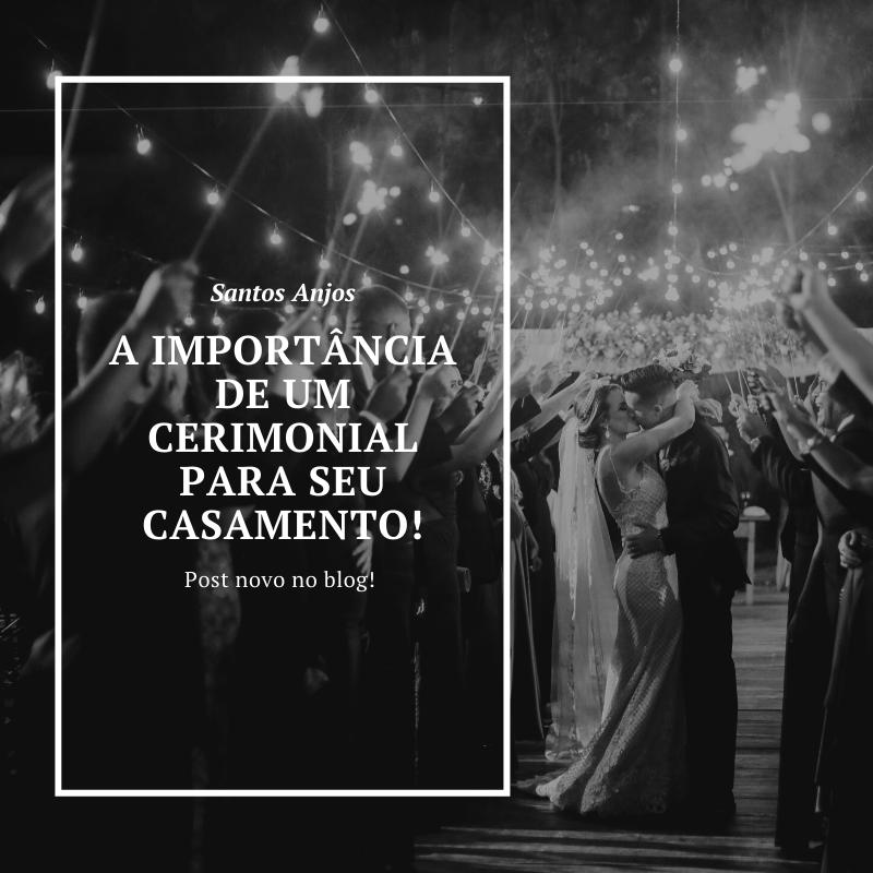 Imagem capa - A importância de um cerimonial para o seu casamento por Fotografo de Casamento BH-MG/Santos Anjos Fotografias