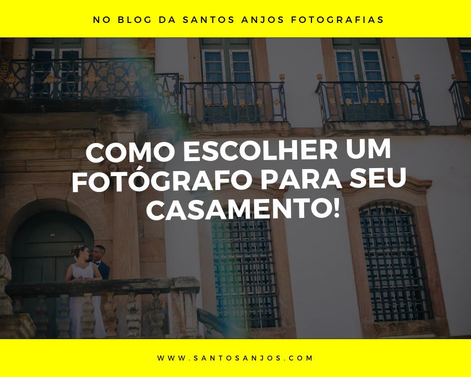 Imagem capa - Como escolher um fotógrafo para seu casamento! por Fotografo de Casamento BH-MG/Santos Anjos Fotografias