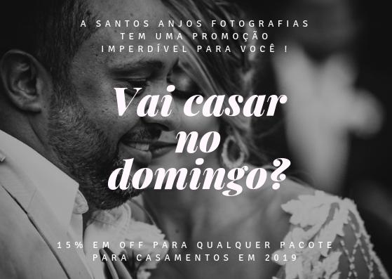 Imagem capa - Vai se casar em um domingo! Temos uma PROMOÇÃO incrível para você! por Fotografo de Casamento BH-MG/Santos Anjos Fotografias
