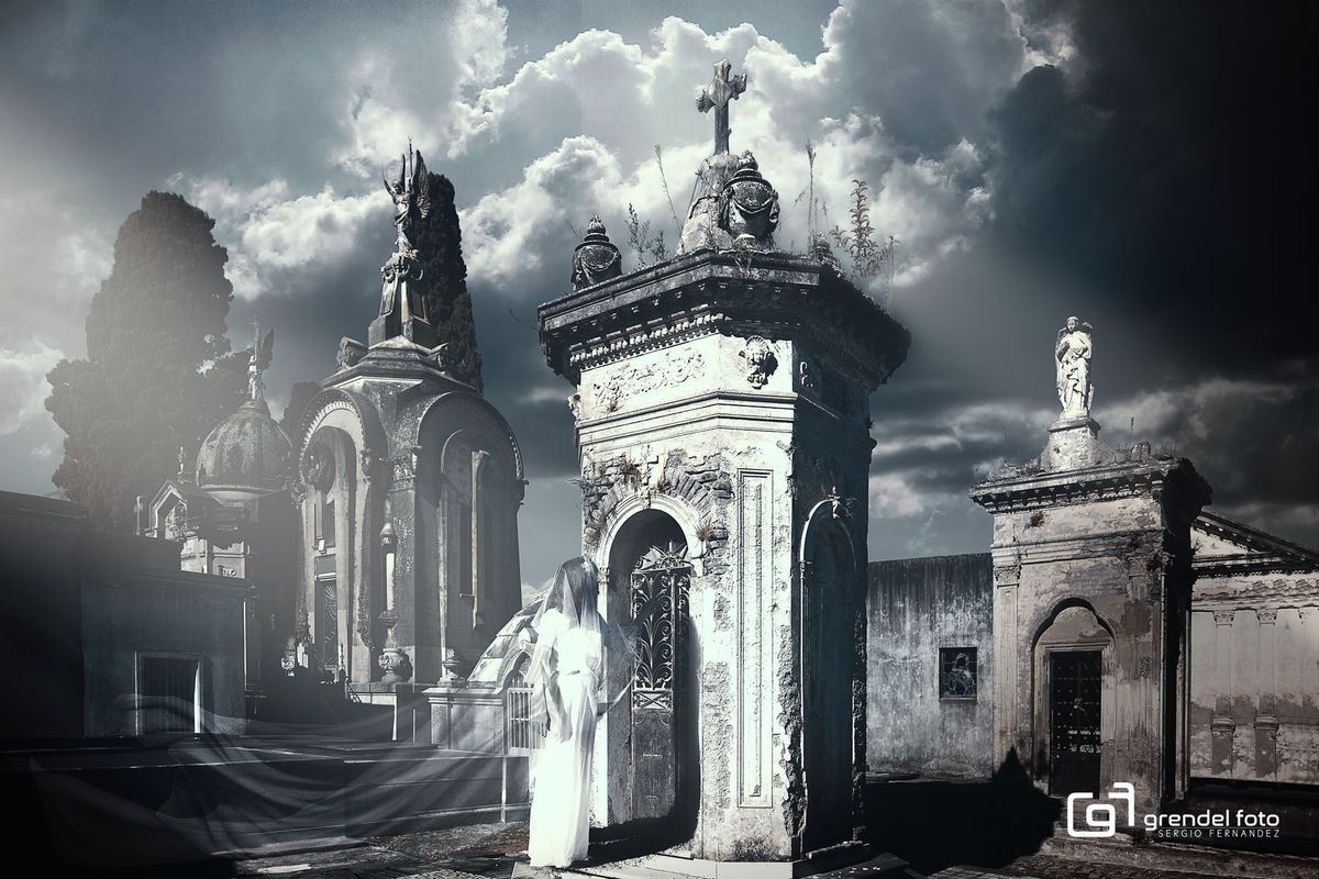 Imagem capa - La dama de blanco - Paso a paso (video) por GrendelFoto