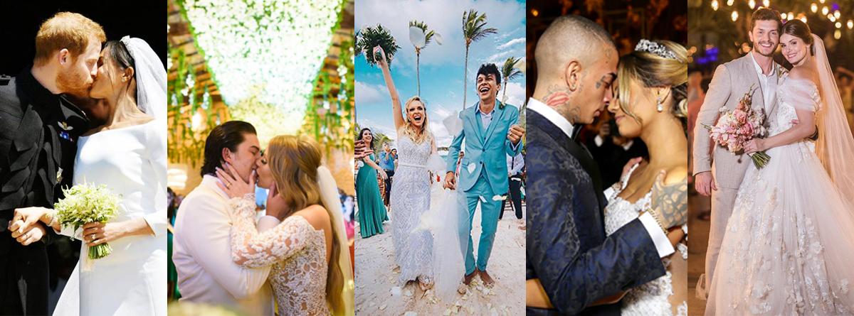 Imagem capa - Casamentos de Famosos em 2018 por Rosélia Lima