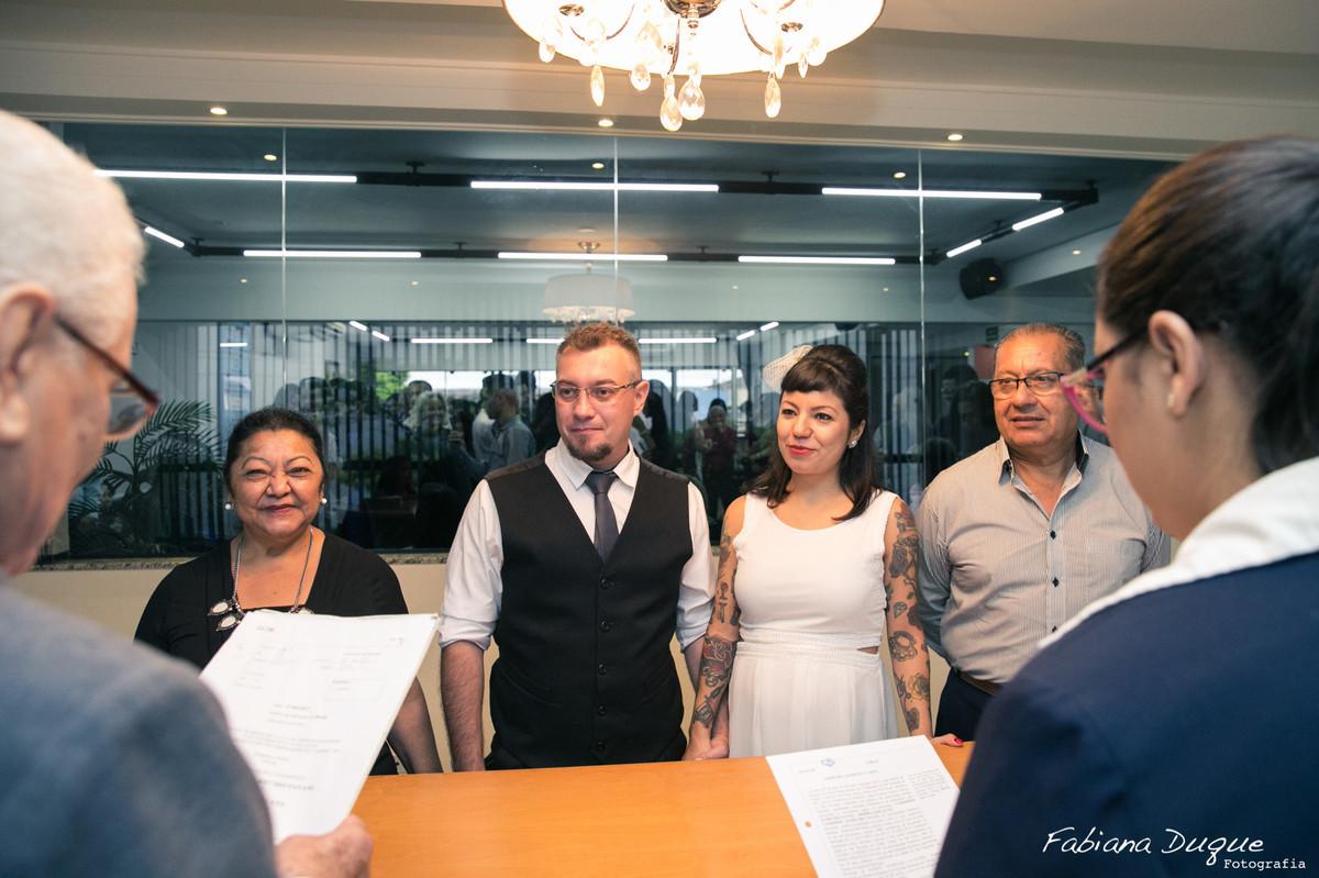 Mini wedding no cartório em São Bernardo do Campo, SP