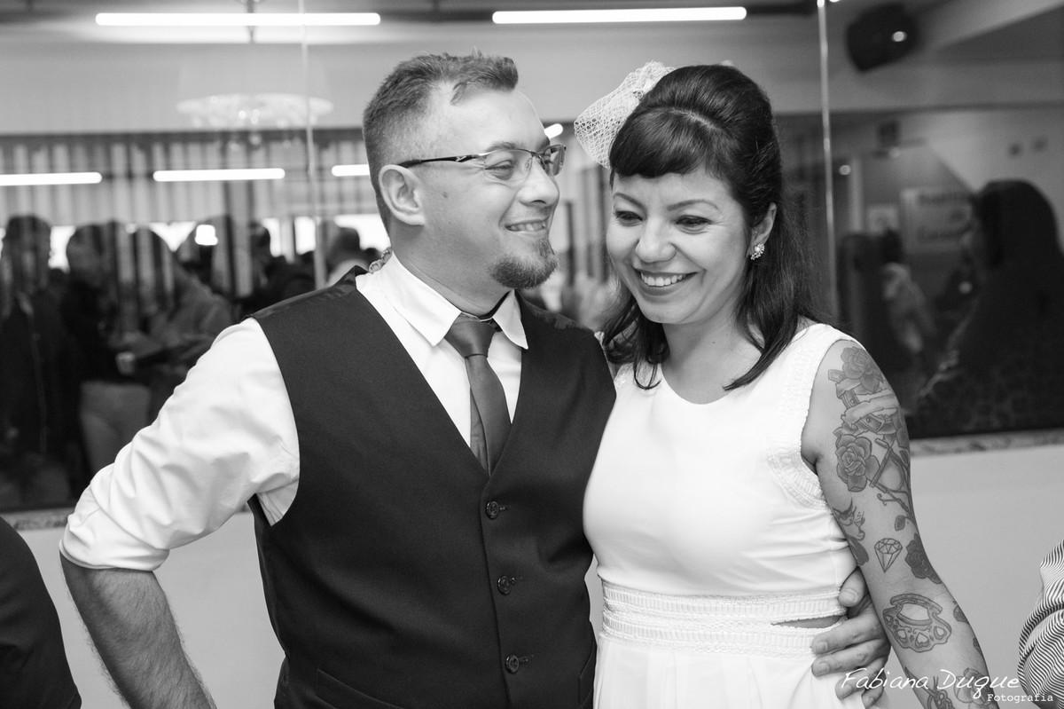 Casamento civil no cartório em São Bernardo do Campo