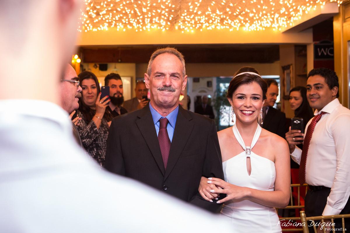 Mini wedding realizado no Bistrô Ruella Mario Ferraz fotografado por Fabiana Duque Fotografia
