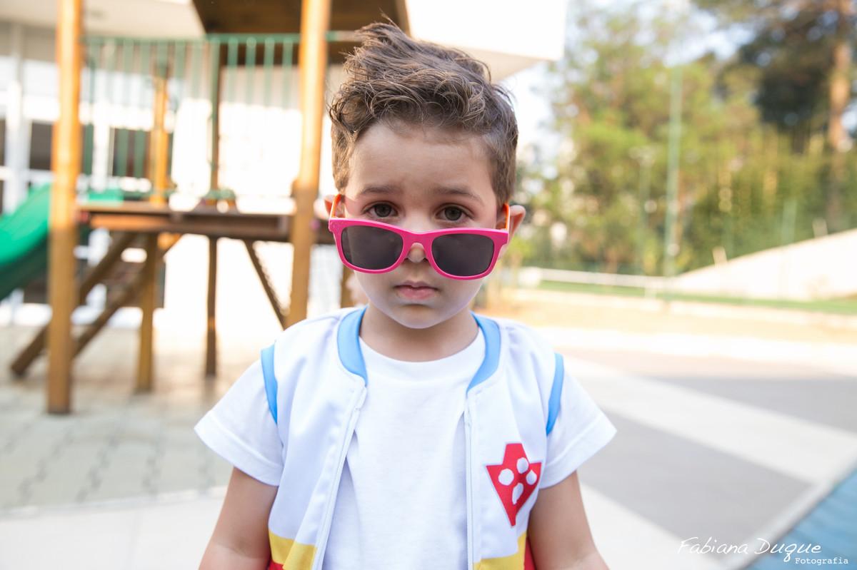 Criança estilosa