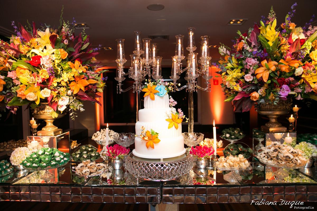 decoração de casamento