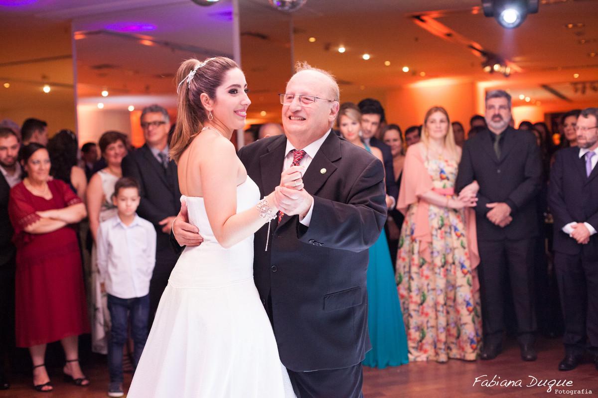 Valsa da noiva com o avô