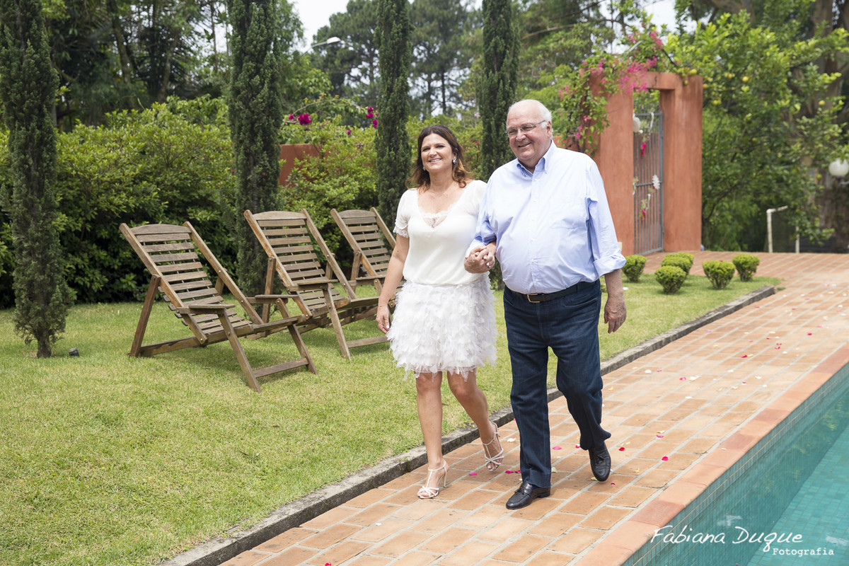 Mini Wedding fotografado por Fabiana Duque na Granja Viana - SP