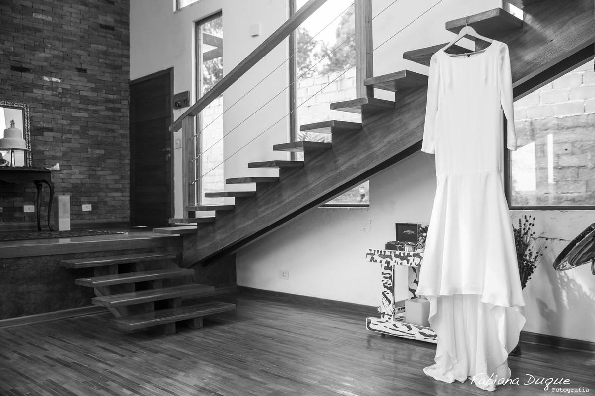 Vestido de noiva casamento vintage