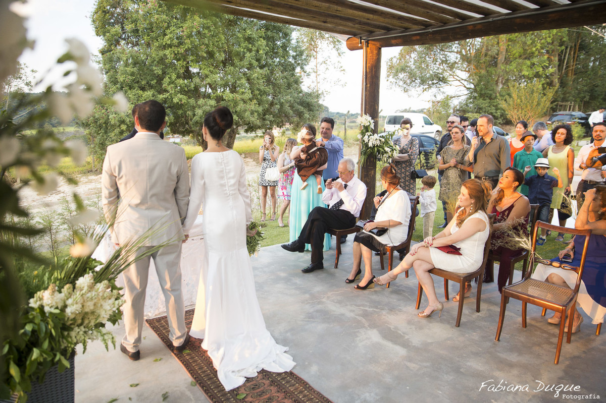 Mini Casamento no pôr do sol em Ibiuna