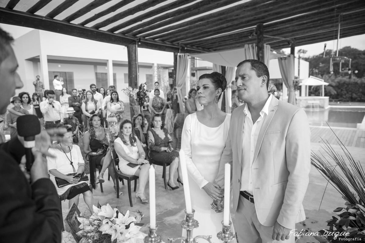 Mini wedding de dia feito em casa em Ibiuna