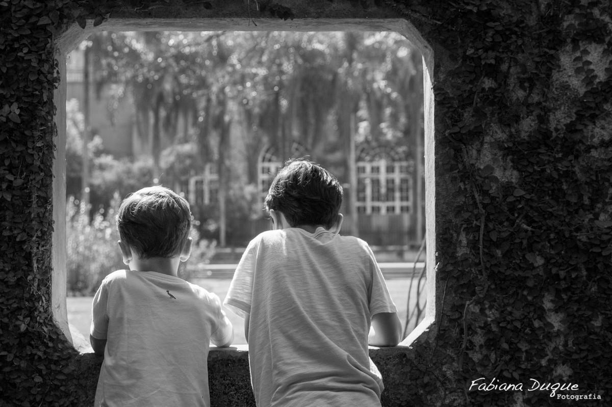 Ensaio de irmãos no parque burle marx - SP