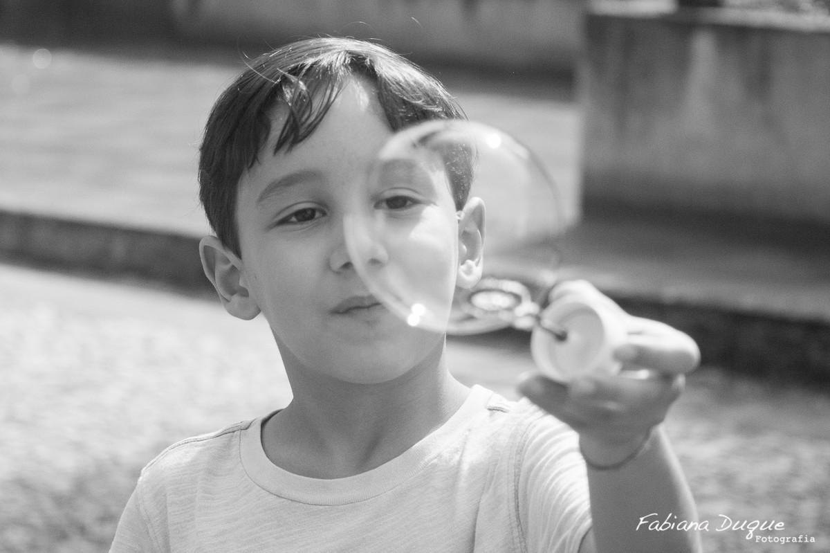Bolinha de sabão no parque burle marx - SP