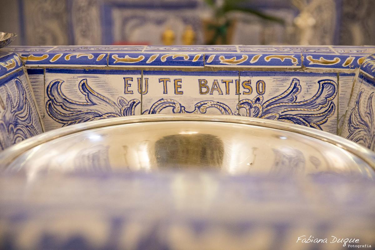 Batizado de menino na Nossa Senhora do Brasil - SP